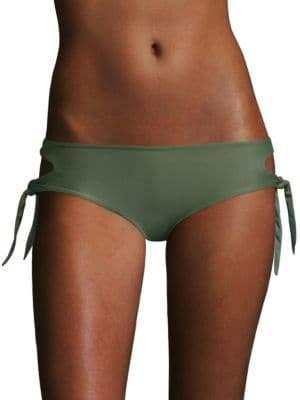 Mikoh Alapa Cutout Knot Bikini Bottom