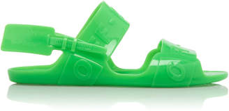Off-White Zip-Tie Vinyl Sandals
