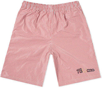Fred Perry x Thames Gingham Short