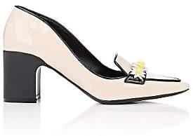 Fabrizio Viti Women's City Patent Leather Loafer Pumps-Nudeflesh