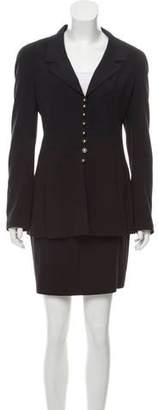 Chanel Wool Skirt Suit