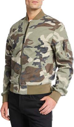 Vigoss Men's Camo Bomber Jacket