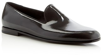 Armani Shine Smoking Slippers $795 thestylecure.com