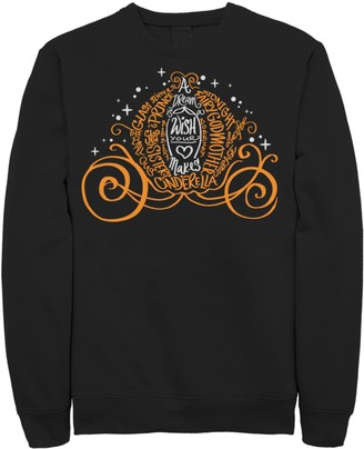 Disney Disney's Cinderella Men's Pumpkin Carriage Pullover Sweatshirt