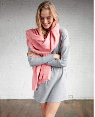 Express brushed blanket scarf