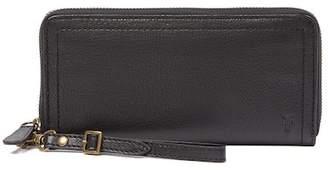 Frye Lily Leather Zip Wrist Wallet