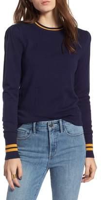 Treasure & Bond Sporty Stripe Sweater