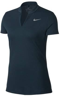 Nike AeroReact Blade Collar Short Sleeves Golf Polo 2017 Women