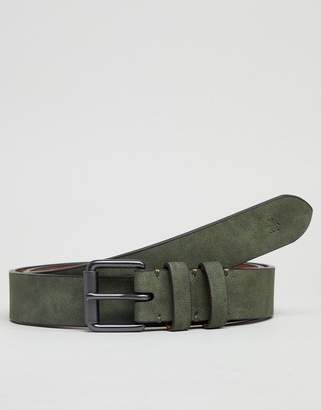 Original Penguin Skinny Leather Casual Belt