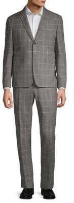 Thom Browne Windopane Wool Suit