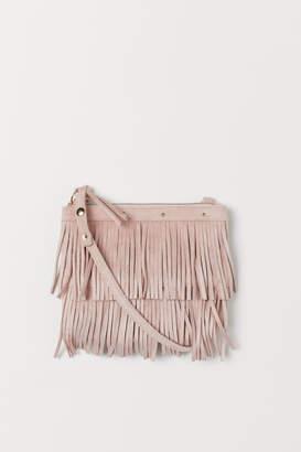 H&M Shoulder bag with fringing