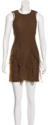 Burberry Silk Lace Dress