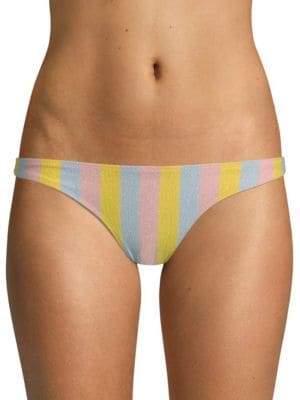 The Rachel Striped Bikini Bottom