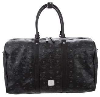 MCM Visetos Duffle Bag
