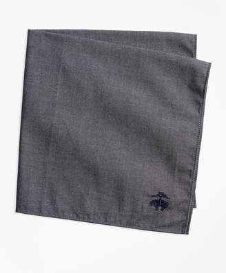 Brooks Brothers Cotton Pocket Square