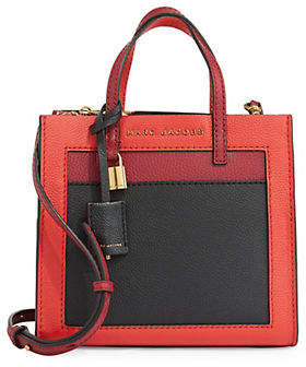 Marc Jacobs Mini Grind Colourblock Leather Tote