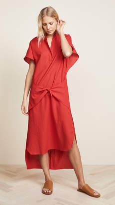 Vince Wrap Front Dress