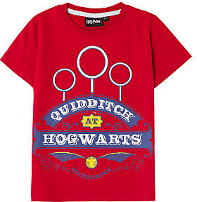 Harry Potter Children's Quidditch T-Shirt, Red