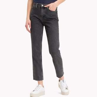 Tommy Hilfiger Black High Rise Slim Fit Jean