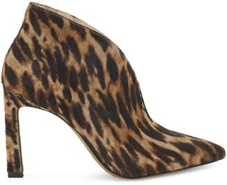 Vince Camuto Sestrinda Calf Hair Leather Stiletto Booties