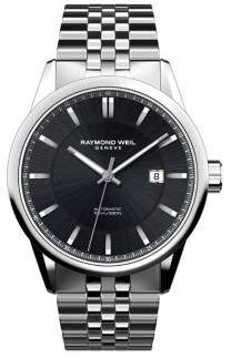 Raymond Weil Freelancer Stainless Steel Round Automatic Bracelet Watch