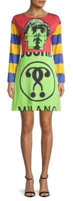 Moschino Graphic Shift Dress