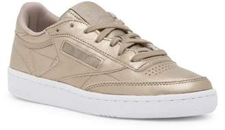 Reebok Club C 85 Melted Metallic Leather Sneaker
