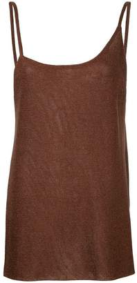 Kacey Devlin asymmetric side split camisole