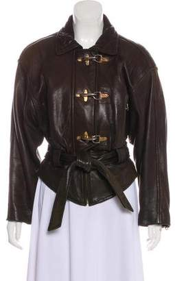 Andrew Marc Addition Leather Jacket