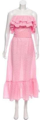 Lisa Marie Fernandez Sabine Strapless Maxi Dress w/ Tags
