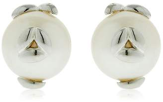 Bea Yuk Mui Bongiasca Silver Pearl Rice Stuf Earrings