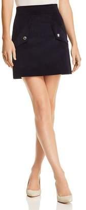 Maje Jinelle Decorative Pocket Corduroy Mini Skirt - 100% Exclusive