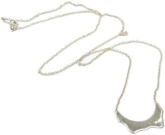 Ralph Lauren Blair Brown Jewelry 14k Gold & Diamond Denali Pendant Necklace