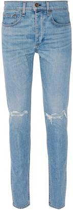 Rag & Bone 'Fit 1' ripped knee extra slim jeans