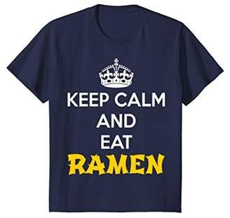 Keep Calm and eat Ramen T-Shirt - Funny Ramen Shirt