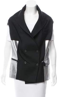 Acne Studios Double-Breasted Peak-Lapel Vest