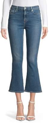 7 For All Mankind High-Waist Slim Kick Jeans