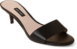 9fad83632738 Nine West Black Leather Sole Women s Sandals - ShopStyle