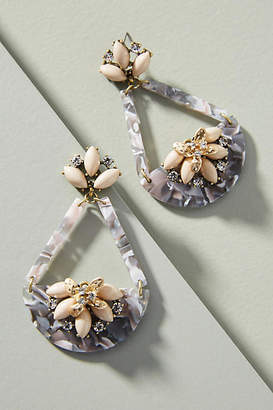 Anthropologie Collecting Shells Drop Earrings