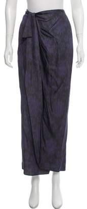Baja East Printed Maxi Skirt w/ Tags
