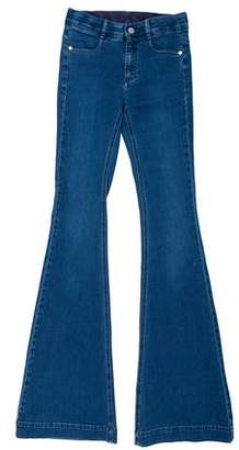 Stella McCartney Mid-Rise Flare Jeans