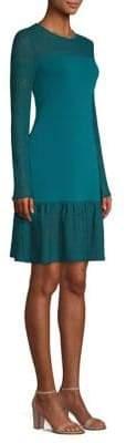 MICHAEL Michael Kors Mixed Media Sheath Dress