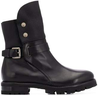 AGL side buckle boots
