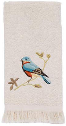 Avanti Gilded Birds Fingertip Towel