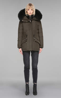 Mackage KATRYN hip length winter down jacket with fur