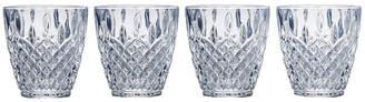 Mikasa Harding Set of 4 Double Old Fashioned Glasses