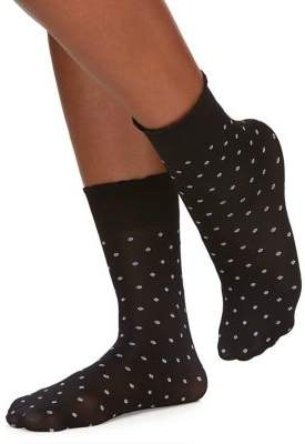 Berkshire Opaque Dot Anklet Socks