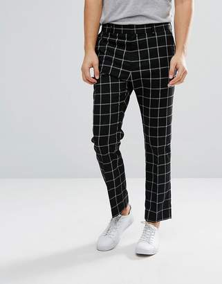 Weekday Checked Suit Pants
