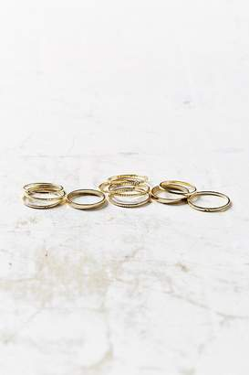 Urban Outfitters Simple Ring Pack $18 thestylecure.com