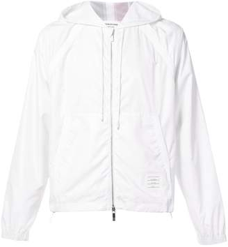 Thom Browne zip up hoodie ripstop